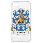 Cloutier Family Crest iPhone 5C Cases