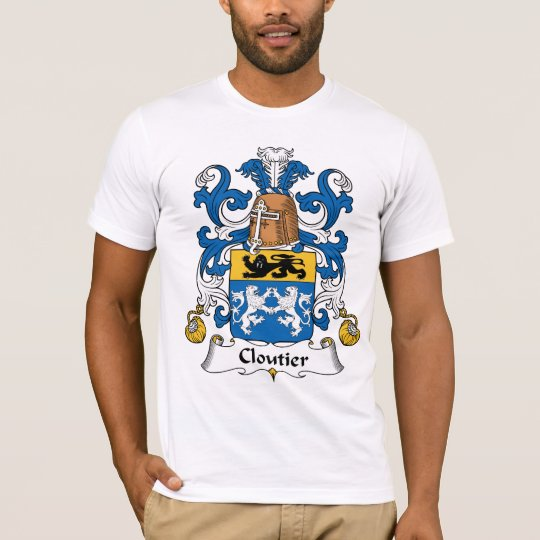 Cloutier Family Crest T-Shirt