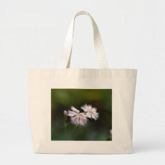 Clove Pink (Dianthus caryophyllus) Jumbo Tote Bag