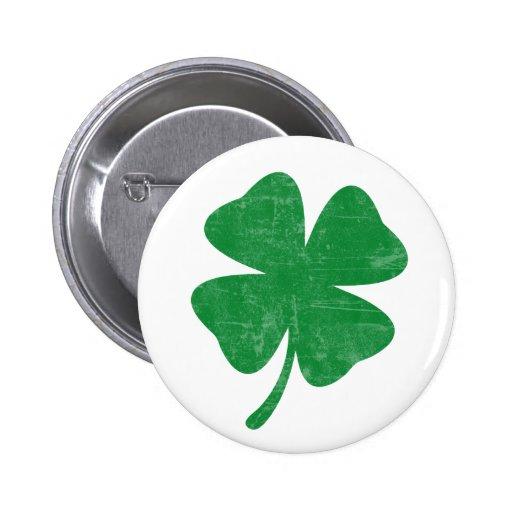 Clover 2 Inch Round Button