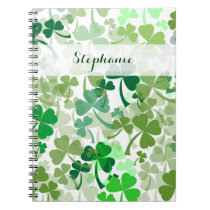 Clover all Over Pattern Notebook