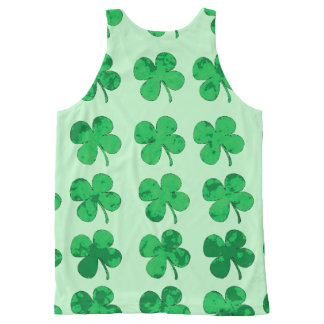 Clover All-Over Print Tank Top