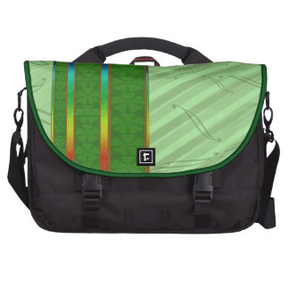 Clover And Rainbows Designer Computer Bag
