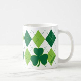 Clover Argyle Mug