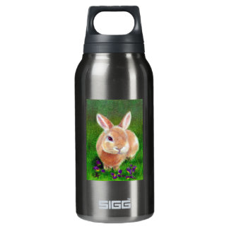 Clover Bunny Insulated Water Bottle