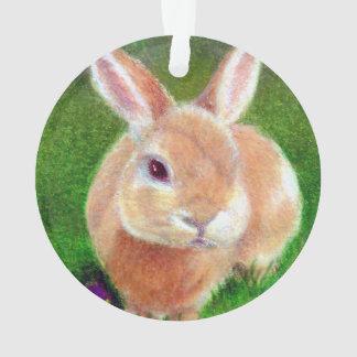 Clover Bunny Ornament