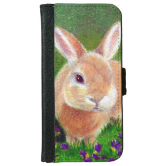 Clover Bunny Wallet Phone Case For iPhone 6/6s