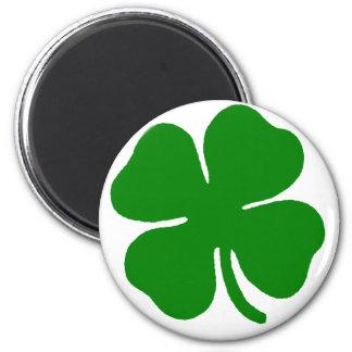 Clover Dark Green Fridge Magnets