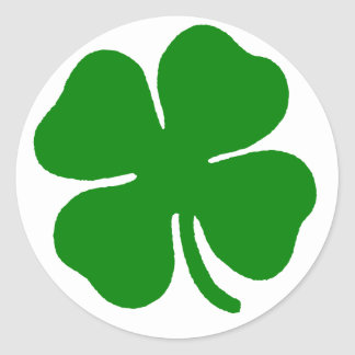 Clover Dark Green Sticker