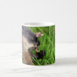 Clover-eating Groundhog Coffee Mug