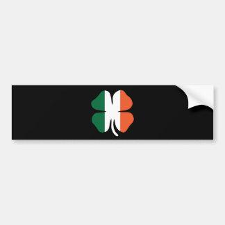 Clover Flag Bumper Sticker