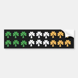 Clover Flag Bumper Stickers
