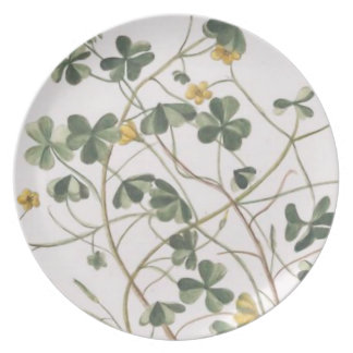Clover Flower Serving Dish Plate