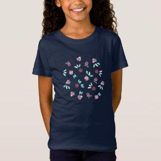 Clover Flowers Girls' Jersey T-Shirt
