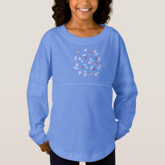 Clover Flowers Girls' Spirit Jersey T-Shirt