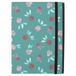 Clover Flowers iPad Pro Case with No Kickstand