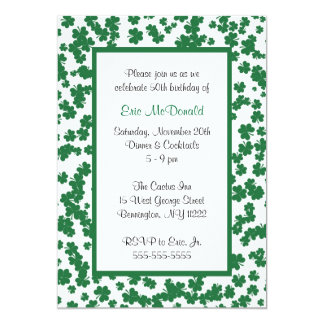 Clover Frame Invitation