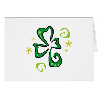 Clover Fun Stationery Note Card