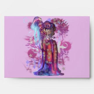 Clover Geisha A7 Greeting Card Envelope
