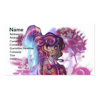 Clover Geisha Business Card Business Cards