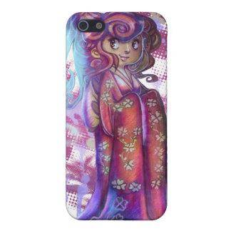 Clover Geisha iPhone Case Case For iPhone 5