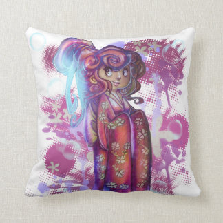 Clover Geisha Pillow Pillows