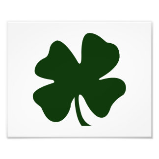 clover green blob st pat day irish.png photo print