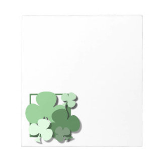 CLOVER GREENS NOTE PAD