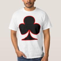 Clover Icon Symbol Card T Shirt