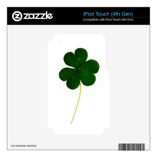 Clover iPod Touch 4G Decal