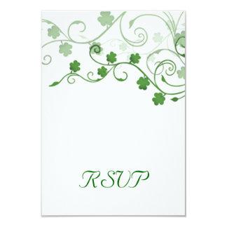 Clover Irish RSVP Card