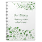 Clover Irish Wedding Notebook