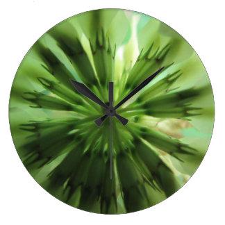 Clover Leaf Wall Clocks