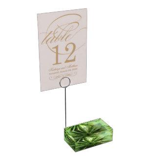 Clover Leaf Table Card Holders