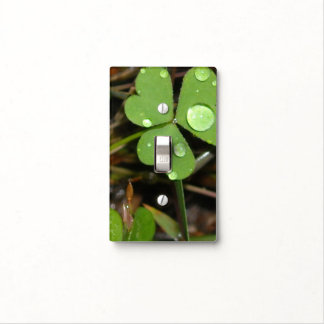 Clover Leave Light Switch Plates