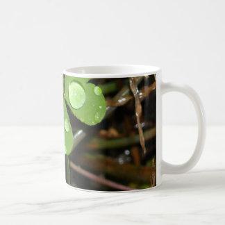 Clover Leave Classic White Coffee Mug