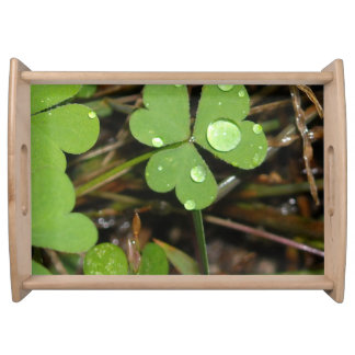 Clover Leave Serving Tray
