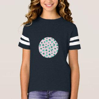 Clover Leaves Girls' Football T-Shirt