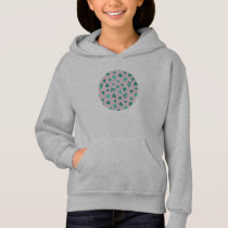Clover Leaves Girls' Hoodie