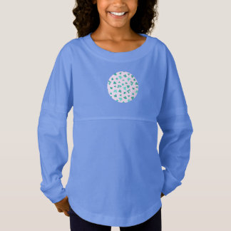 Clover Leaves Girls' Spirit Jersey T-Shirt