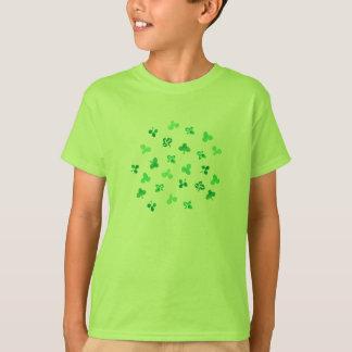Clover Leaves Kids' Cotton T-Shirt