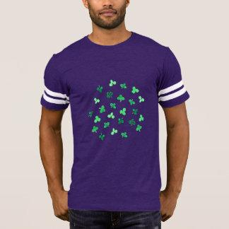 Clover Leaves Men's Football T-Shirt