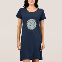 Clover Leaves Women's T-Shirt Dress