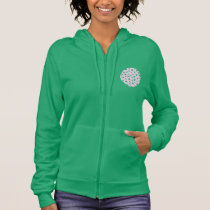 Clover Leaves Women's Zip Hoodie
