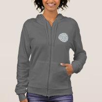 Clover Leaves Women's Zip Hoodie