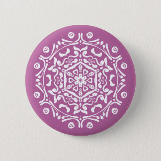 Clover Mandala Button