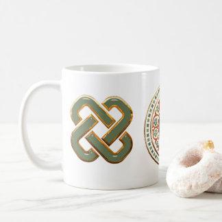 Clover Mandala Coffee Mug