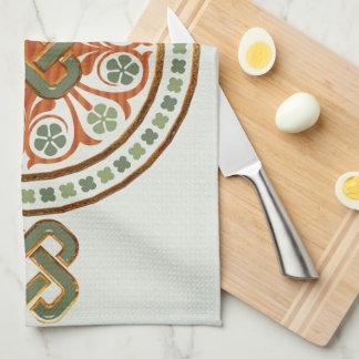 Clover Mandala Towel