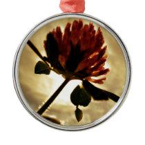 clover metal ornament