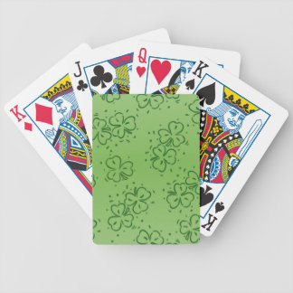 Clover Over and Over Bicycle Playing Cards